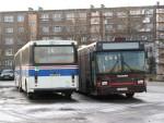 Volvo B10M - Ajokki 8500 ja Scania CN113 -  MaxCi  Bussipark