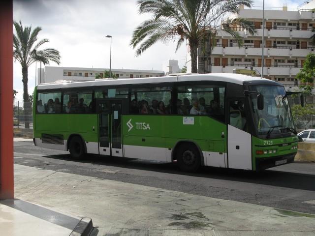TF 5445 BT - 2010.12.29, Las Americas bussijaam