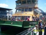 Liinipraam Sydney sadamas, 08.01.2004