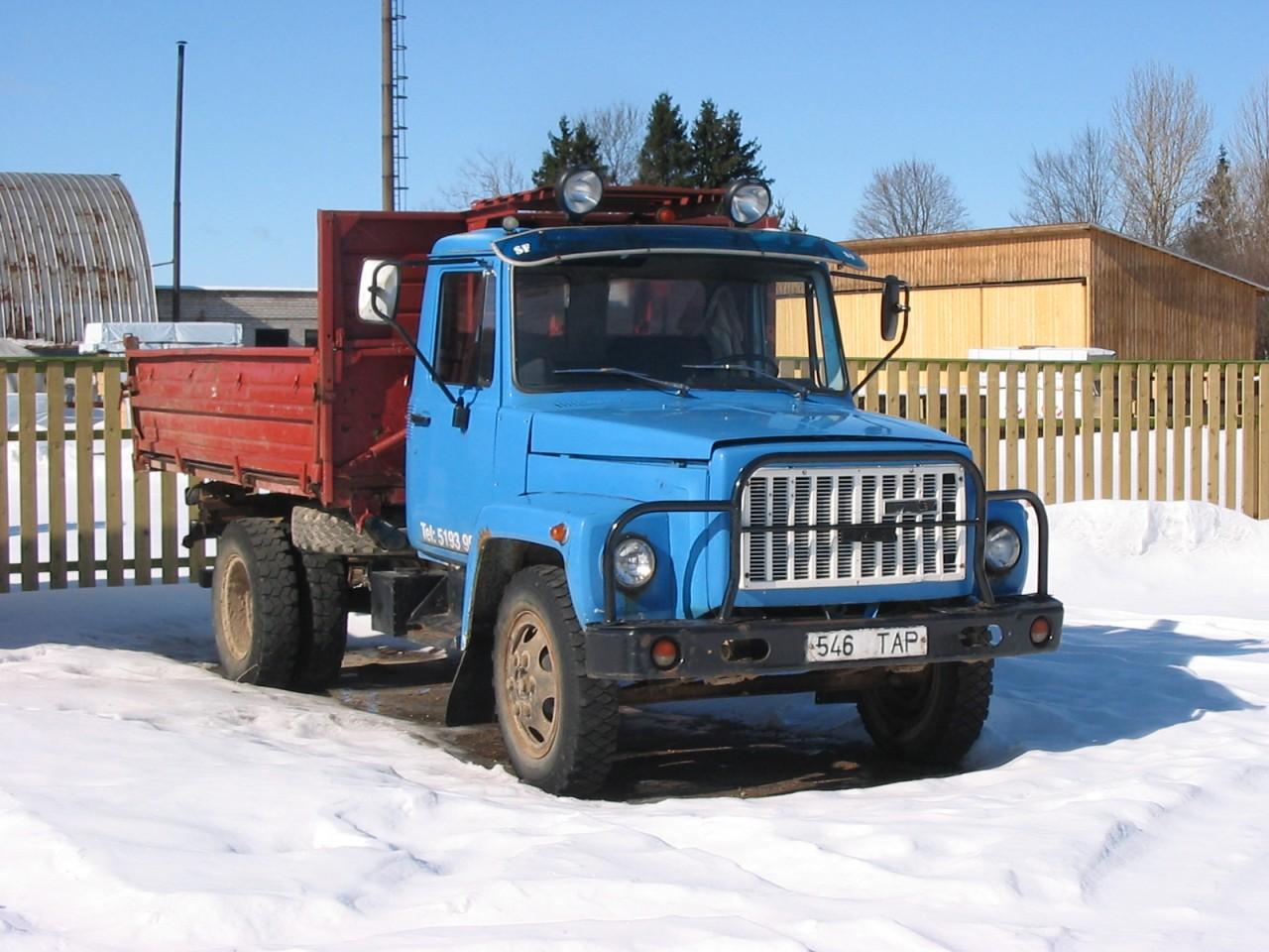 Тюнинг газ 3507
